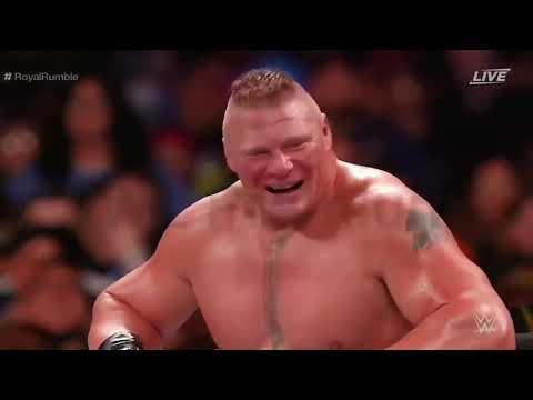 Brock Lesnar Royal Rumble 2020 Performance