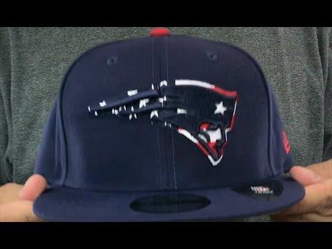 e8041fe73 Patriots  FLAG FILL INSIDER SNAPBACK  Navy Hat by New Era - YouTube
