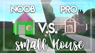 Roblox | Bloxburg: NOOB vs PRO: Small House | House Build