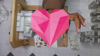 CREATING AND CUTTING REFINED BEAUTY COLD PROCESS HANDMADE SOAP MAKING VIDEO