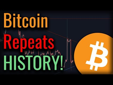 GOOD NEWS! Bitcoin Is Repeating History - And It's BULLISH!