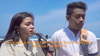 Gambar cover Berharap Tak Berpisah - Reza Artamevia Live (CoverCamping) By Della Firdatia