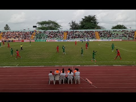 Match Highlights - AFCON U-20 Qualifiers: Nigeria 1-0 Guinea Bissau (Agg: 3-2)