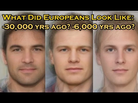 Origins of Eye, Hair, and Skin Colour in Europeans