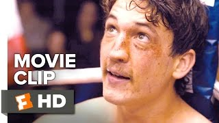 Bleed for This Movie CLIP - Show Me How You Fight (2016) - Miles Teller Movie