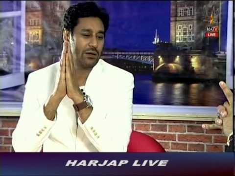 Harjap Bhangal Full Show - Harbhajan Mann Interview 20150518 1859   MATV National 00