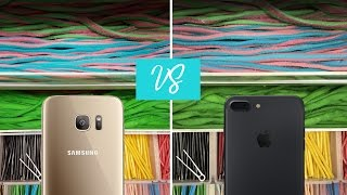 iPhone 7 Plus Camera VS Samsung Galaxy S7 Edge - Showdown!