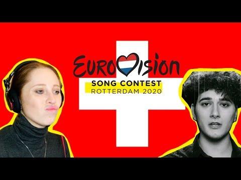 I REACTED TO SWITZERLAND // EUROVISION 2020 // GJONS TEARS // REPONDEZ MOI