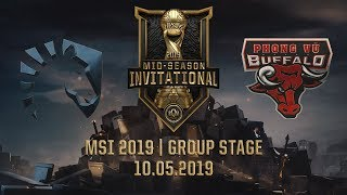 TL vs PVB [MSI 2019][10.05.2019][Group Stage]