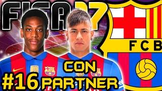 FIFA 17 FC Barcelona Modo Carrera #16   NEYMAR ES IMPOSIBLE Y EL CLASICO   CON PARTNER