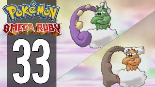 Pokemon Omega Ruby - Part 33 - Catching Tornadus and Landorus (Gameplay Walkthrough)