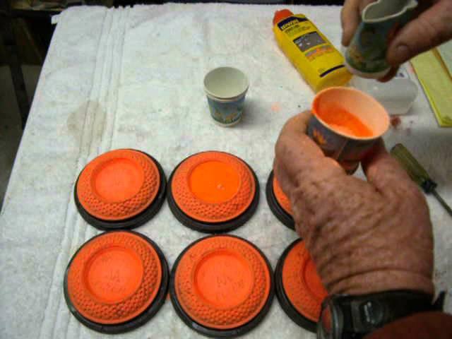 Flash Bullseyes for Homemade ShootNC