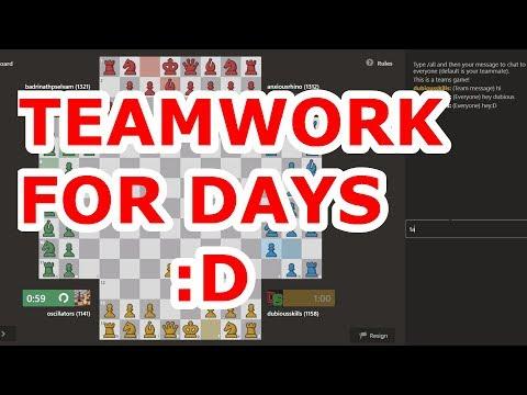 4 PLAYER CHESS TEAMS #4  | Team Fun