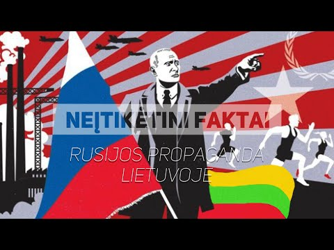 Russian propaganda influence in Lithuania / Rusijos propaganda Lietuvoje