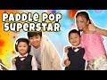 Uyyus ketemu Angga dan Naura Paddle Pop Superstar - Part 1