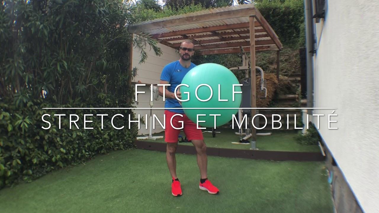 FitGOLF - 10 exercices -Etirements et mobilité