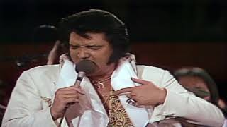 You Gave Me A Mountain -  Elvis Presley  ( Live 1977 ) [ CC ]