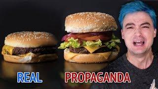 Comida REAL vs. Comida de PROPAGANDA