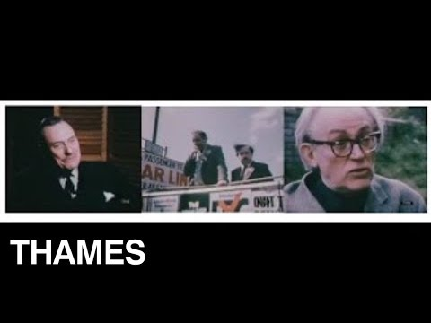 Europe - The Common Market - Enoch Powell - Michael Foot - 1975