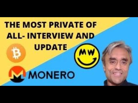 THE MOST PRIVATE CRYPTO OF ALL! MORE THAN MONERO AND MIMBLE WIMBLE?-Interview and update- REUPLOADED 1