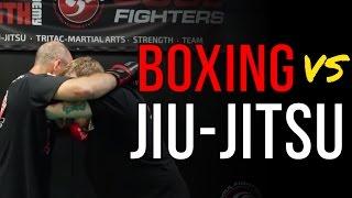 Jiu-Jitsu VS Boxing: TRITAC-Jitsu
