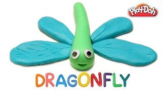 Play Doh Dragonfly | Dragonfly | Play Doh Animals | Kids Play Doh Videos | Learn Play Doh |