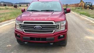 New Truck Day!  2018 Ford F-150 Limited Review