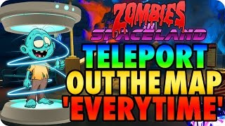 Zombies In Spaceland Glitches: Teleporter Out The Map Every Time - Infinite Warfare