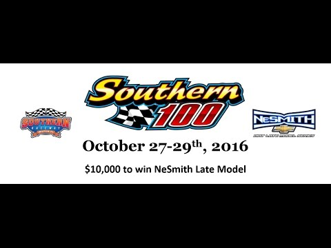 Late Models October Promo Southern Raceway in Milton Fl.