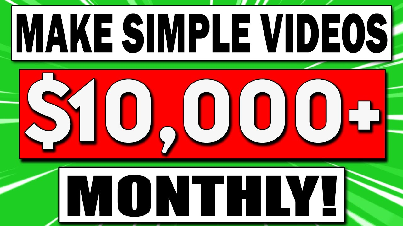 How To Make Money on YouTube and Earn $10,000+ MONTHLY Copying Simple Videos!