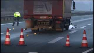 05.12.2014: Junger Mann stürzt von A19-Brücke, wird überrollt und stirbt