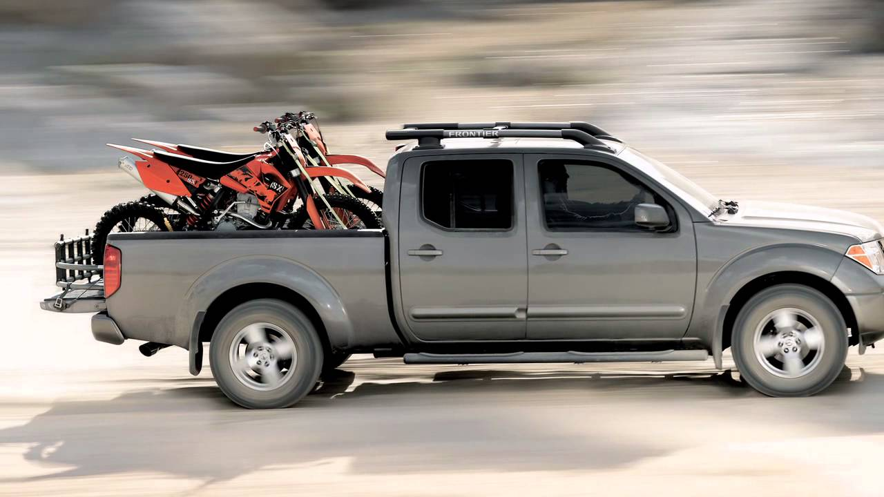 2012 NISSAN Frontier - Roof Rack - YouTube