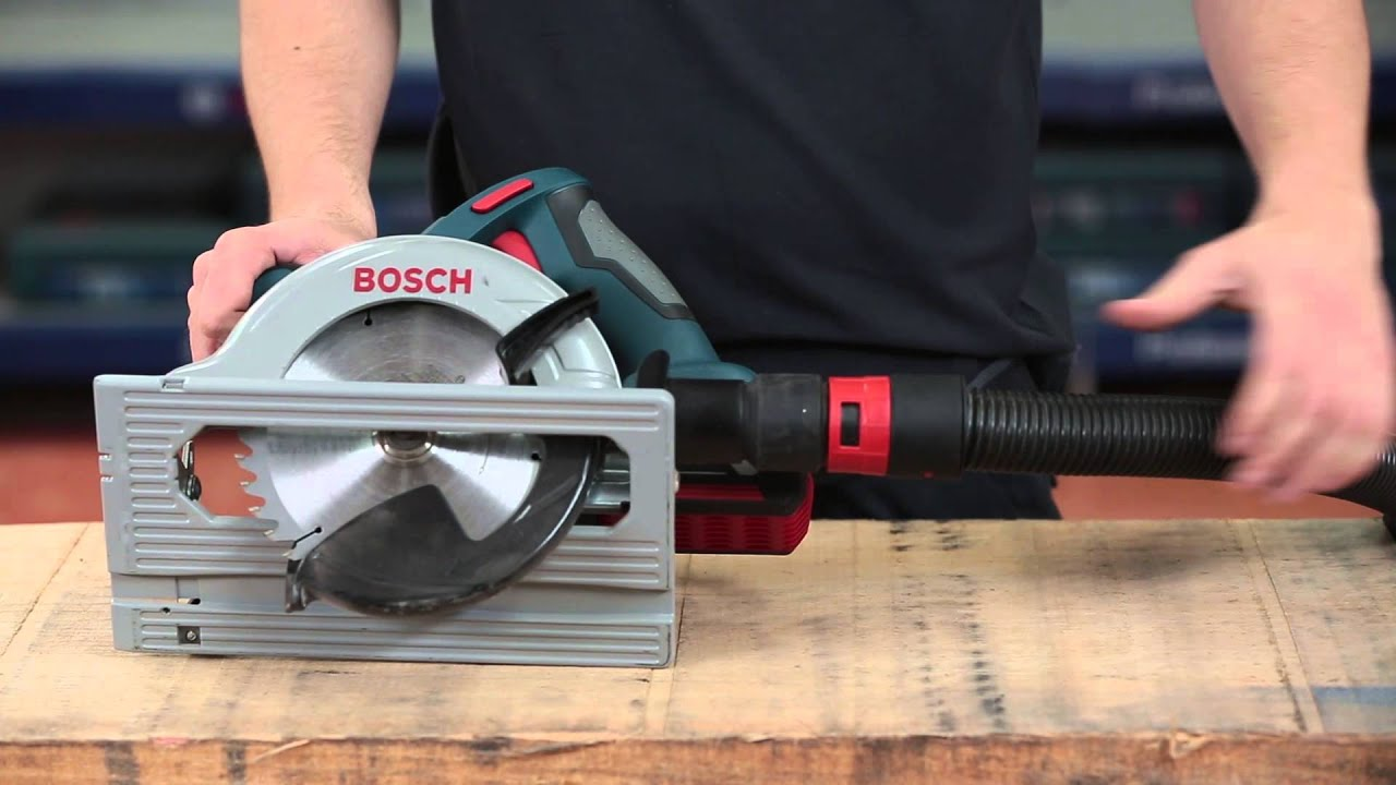 bosch cordless circular saw gks 18 v li professional youtube. Black Bedroom Furniture Sets. Home Design Ideas