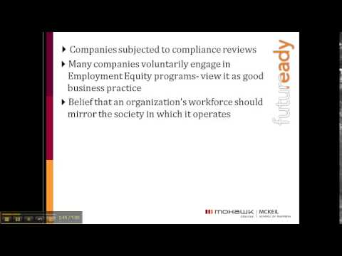 Chapter 2 - Video 5: Employment Equity and Privacy