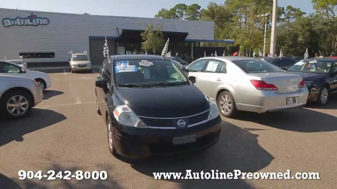 Autoline S 2008 Nissan Versa 1 8 Sl Walk Around Review Test Drive Youtube