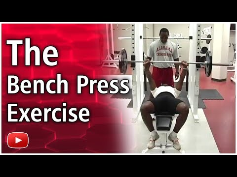 Training for Track and Field - The Bench Press Exercise -  Coach Harvey Glance