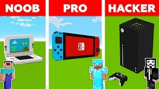 Minecraft Battle: NOOB vs PRO vs HACKER: NEW XBOX SERIES X in Minecraft! / Animation