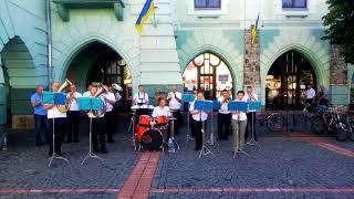 Мукачівський військовий оркестр (imagine dragons believer)