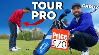 Can a tour pro BREAK PAR with £70 golf clubs!?