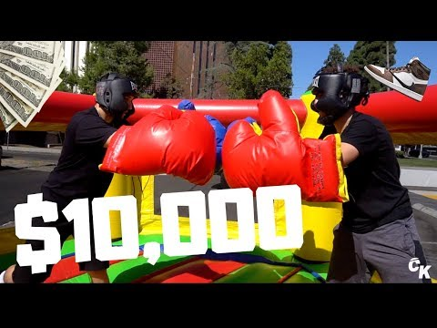 BOXING FOR $10,000 STORE CREDIT!!!!!