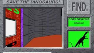 Instructions from Dinos And The Deadly End from 3-D Dinosaur Adventure MS-DOS/Packard Bell Version