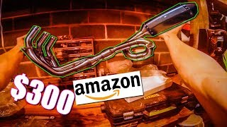 homepage tile video photo for CHEAPEST FZ09 MT09 FULL EXHAUST on Amazon unboxing
