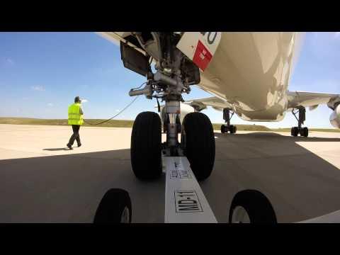 Push Back Air Europa Aeropuerto Internacional de Carrasco