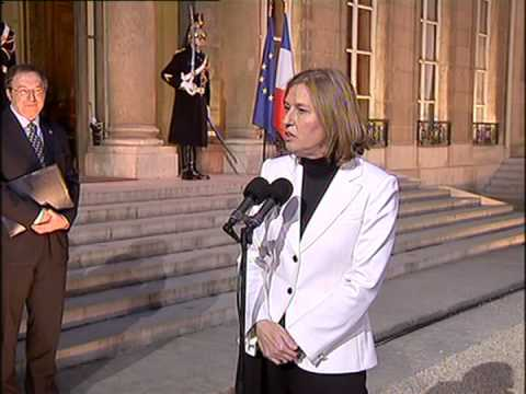 Israeli Foreign Minister meets French President over Gaza