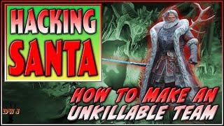 Hacking Santa:  How to Make a Sir Nicholas Unkillable Team | Raid Shadow Legends