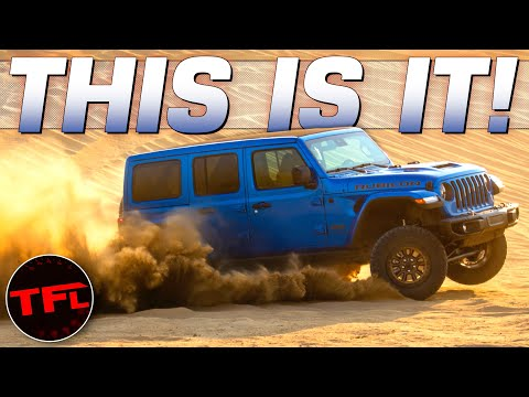 World Debut: Meet The Insane V8 Hemi-Powered Jeep Wrangler | Here Are ALL The Important Details!