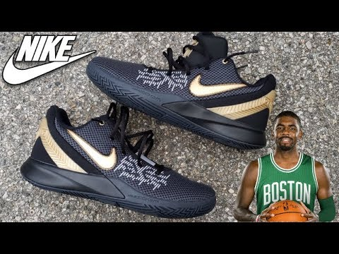 best authentic d0c22 47f41 KYRIE IRVING'S NIKE FKYTRAP 2 SNEAKER REVIEW + ON FEET