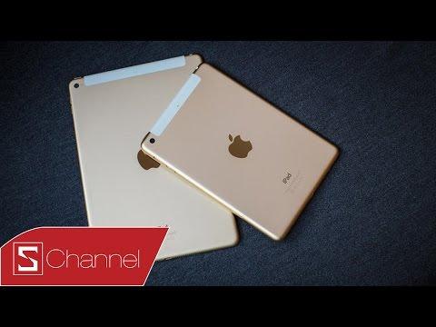 Schannel - Mở hộp iPad Mini 3 = iPad Mini 2 + Màu vàng + Cảm biến vân tay