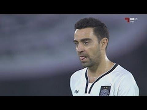 Xavi Hernandez ● A wonderful goal in the Qatari league● Al Sadd 2017/4/7