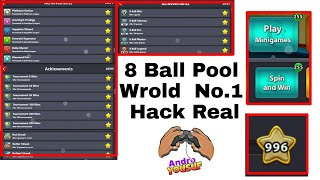8 Ball Pool Unlimited Mod || 255 Spins || Extended Guideline || 996 Level || Anti Ban Apk By Yousuf